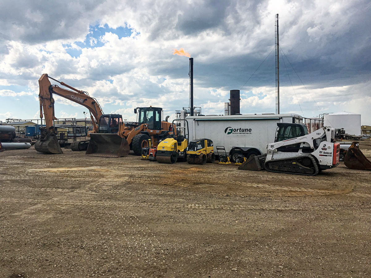 small equipment at Fortune Oilfield Construction